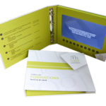 Video panel in notebook 3 ring binder horizontal