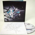 Retro CD LP with Inner Sleeve