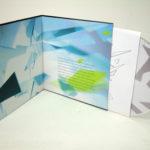 Retro CD LP Book Binding Construction tihck chipboard