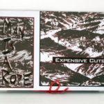Custom DVD book embossed lettering string tie closure
