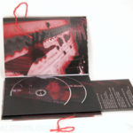 string tie on custom packaging, 2 dvd book set