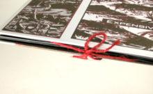 Reusable Fastener Custom Closure string tie on dvd book packaging