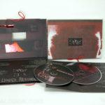 custom packaging photos cloth bound cd dvd book string die cut embossing