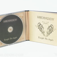 inside view of cd book