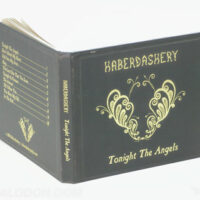 Deluxe packaging hardbound cd book gold foil