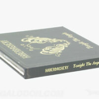 Photos of gold foiling printing printed packaging cd book