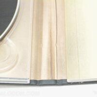 book binding close up cd book