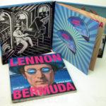Perfect bound book in custom cd box set