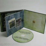 Custom CD Jacket with inner pages, wrap and cork hub