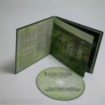 CD LP Packaging, wrap across inside