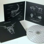 Silver Metallic Ink on CD jacket 4pp