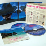 Double cd jacket, two pockets, booklet, insert