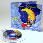Custom CD clear substrate and full color jacket