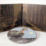 matte uncoated fiberboard stock paper custom cd packaging