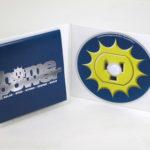 custom eco cd jacket foam hub fold out poster