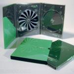 Digipak Packaging 6pp Tall DVD Slipcase Set