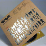 special printing effects silver foil fiberboard stock