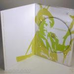 Tall Digipak Packaging, reverse paper printing