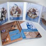 8pp Tall DVD Digipak, 4disc set