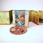 Uncoated cd digipak matte paper