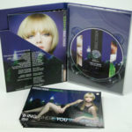 Redkin DVD Digipak, 4pp tall with riveted product booklet