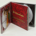 2CD Digipak two discs perfect bound book in middle