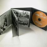 CD Digipak with booklet glued left side
