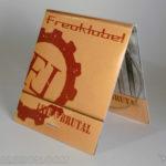 CD Digipak Matchbook Design