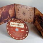 Digipak Wood Finish Effect 6pp CD Packaging
