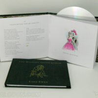 CD Book front and inside view inner pages