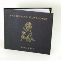 Hardbound cd book with gold foil stamping
