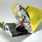 Die cut packaging pop up pak 3D