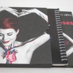 Slipcase set with spiral notebook dvd digipak