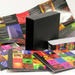 Leatherette material deluxe box set multidisc collection