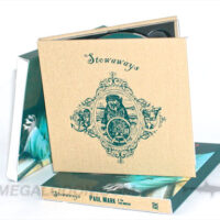 CD DVD Book Fabric Wrap with slipcase