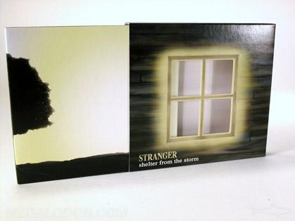 Die cut slipcase packaging digipak set
