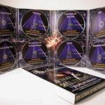 DVD Slipcase Box set with 8 discs in megatall digipak