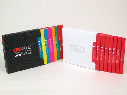 CD DVD Box sets discs packaged in slipcases and individual jackets
