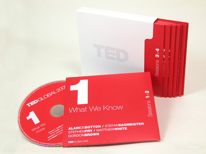 cd dvd box set with jackets and slipcase packaging