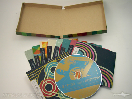 multidisc box set with cds in jackets