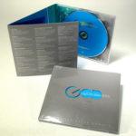 die cut packaging cd digipak lettering cut out