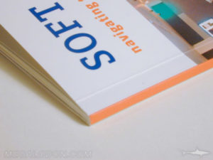 perfect bound book soft cover