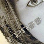 Embossed lettering on cd jacket, metallic ink