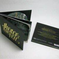Hardcover cd book