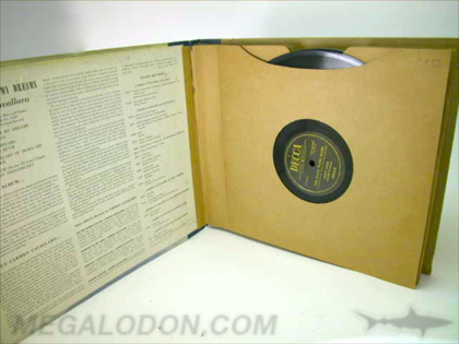 Vintage 12inch LP Packaging