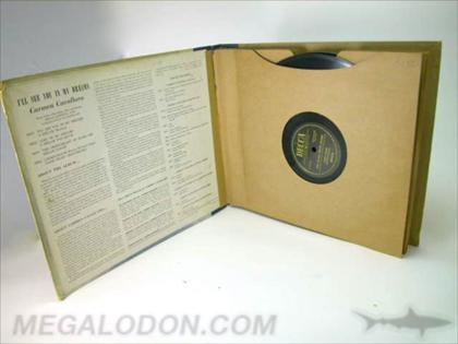 Vinyl LP Packaging Record Set Swinging Sleeve Book