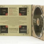 Recycled Paper Tray Digipak with die cut windows