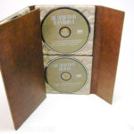 Paper Tray Digipak 10inch Eco Digipak Pacakging 3 disc recycled paper