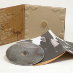 Paper Tray Digipak, 100% Recycled Paper with Cork Hub