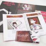 DVD Set with Flip book, spiral notebook, slipcase
